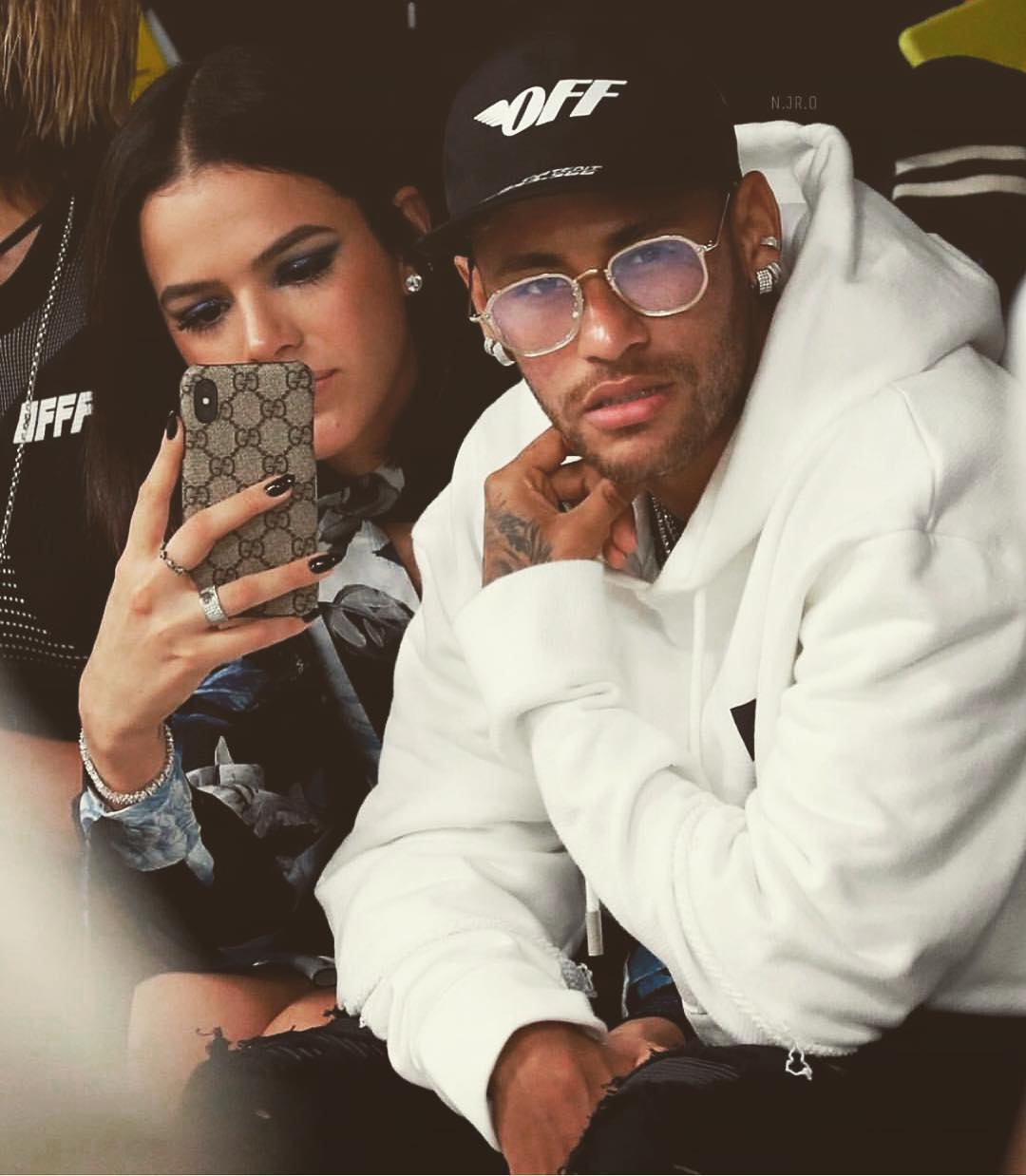 Bruna Marquezine e Neymar Jr., ex-namorados.