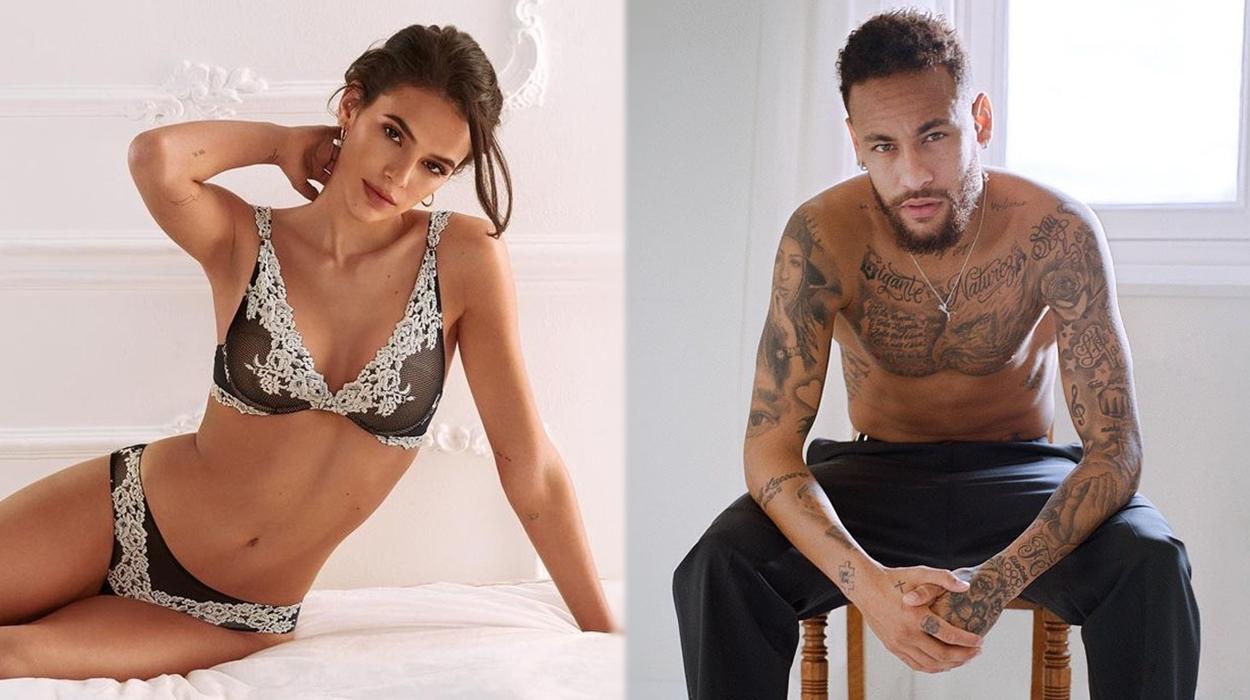 Neymar e Bruna Marquezine.