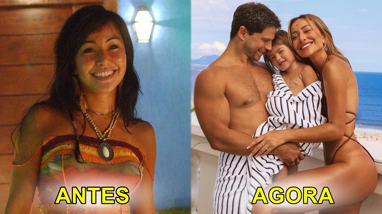 Antes e depois, vida de Sabrina Sato.