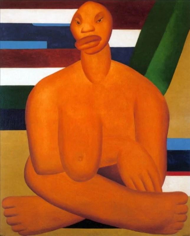 A Negra, 1923.