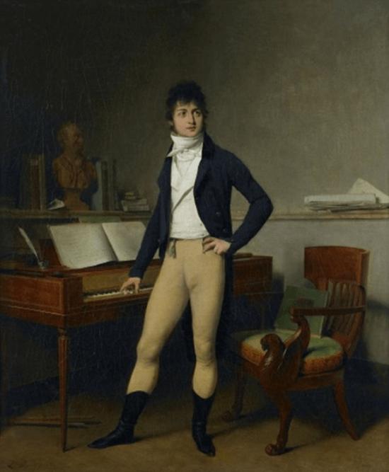 Retrato de François Adrien-Boieldieu (1800), Louis-Léopold Boilly.