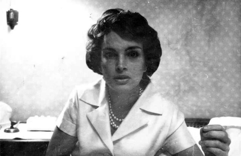 Foto de Maria Thereza Goulart, em 1961.