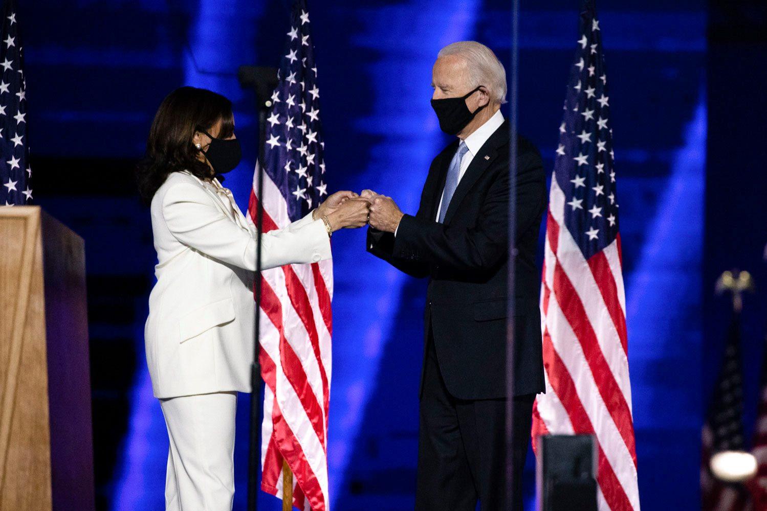 Joe Biden e Kamala Harrris.