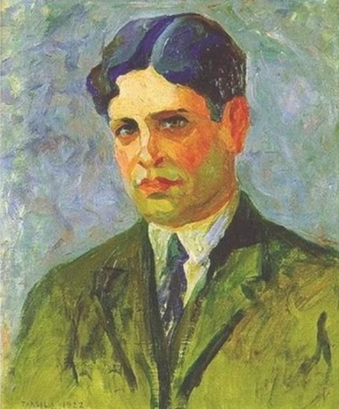 Retrato de Oswald de Andrade, 1922.
