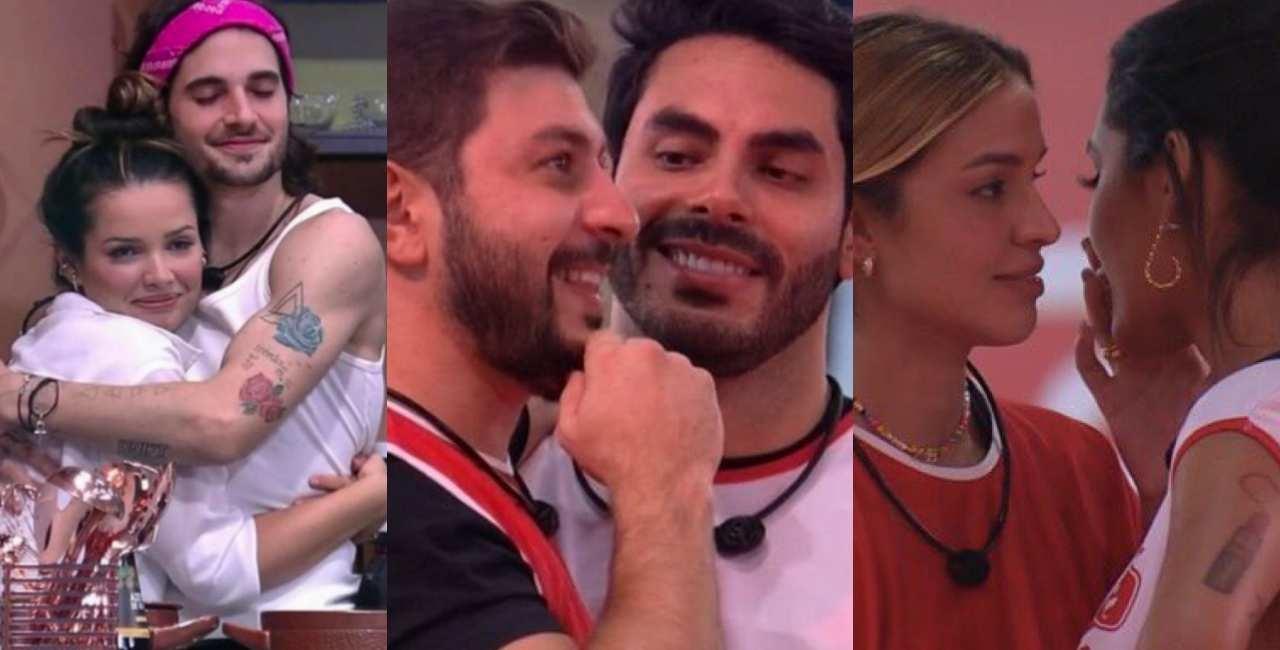 Casais do BBB21 shippados pelos internautas - Globo