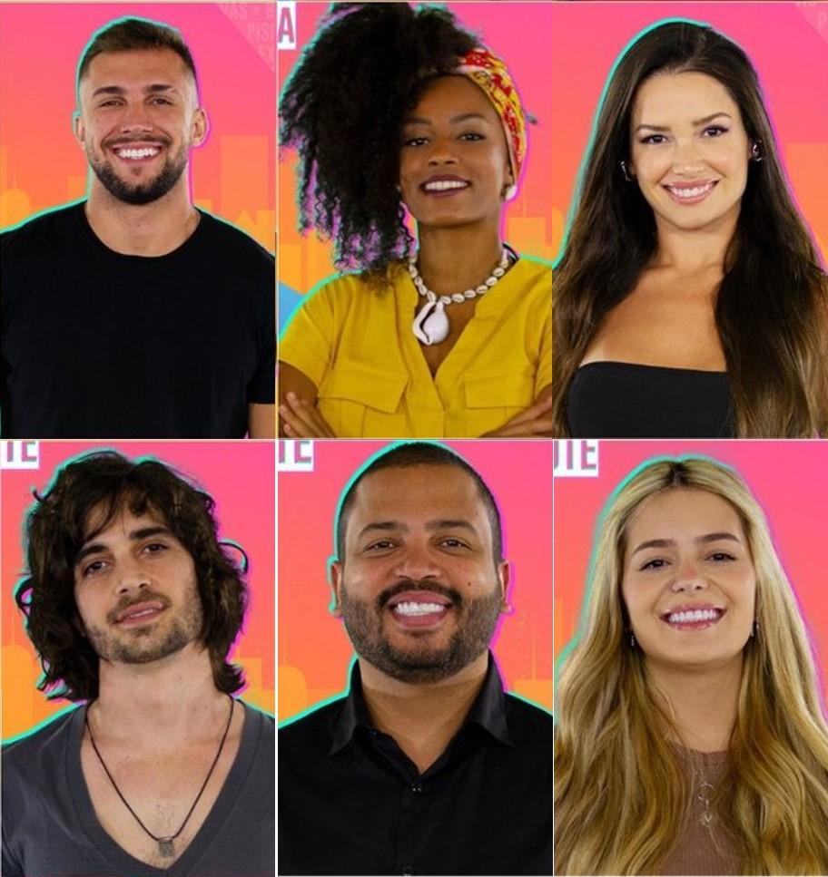 Primeiros imunizados pelo público do BBB21 - Globo