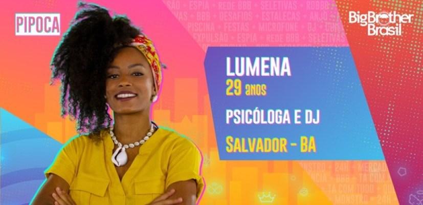 Lumena do BBB21 - Globo