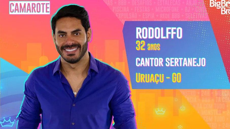 Rodolffo faz parte do time Camarote do BBB21 - Globo