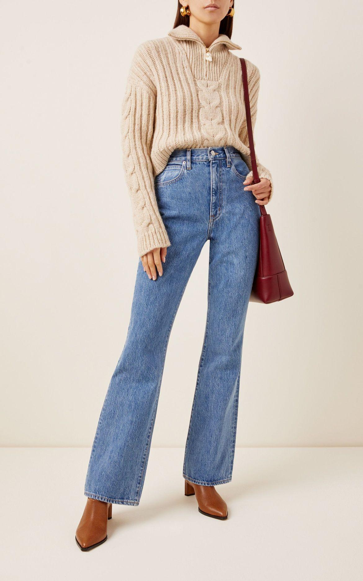 Calças Jeans Bootcut 2021.