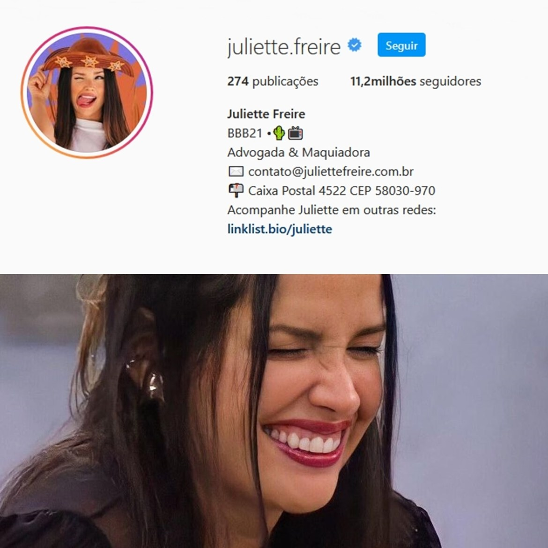 Seguidores de Juliette 26/02/2021.