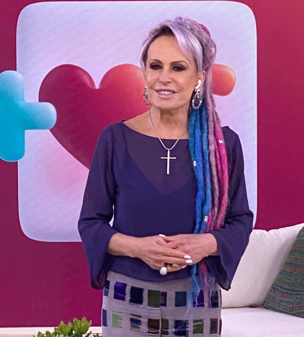 Ana Maria Braga no programa Mais Você.