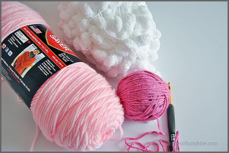 materiais para fazer coelhinhos artesanais de crochê