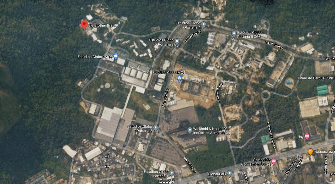 A casa do BBB 21 fica no Projac, no Rio de Janeiro