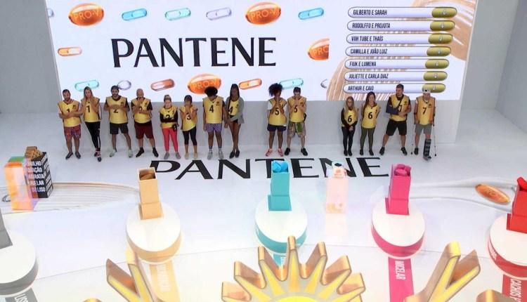 A quinta prova do líder do BBB 21 foi patrocinada pela Pantene