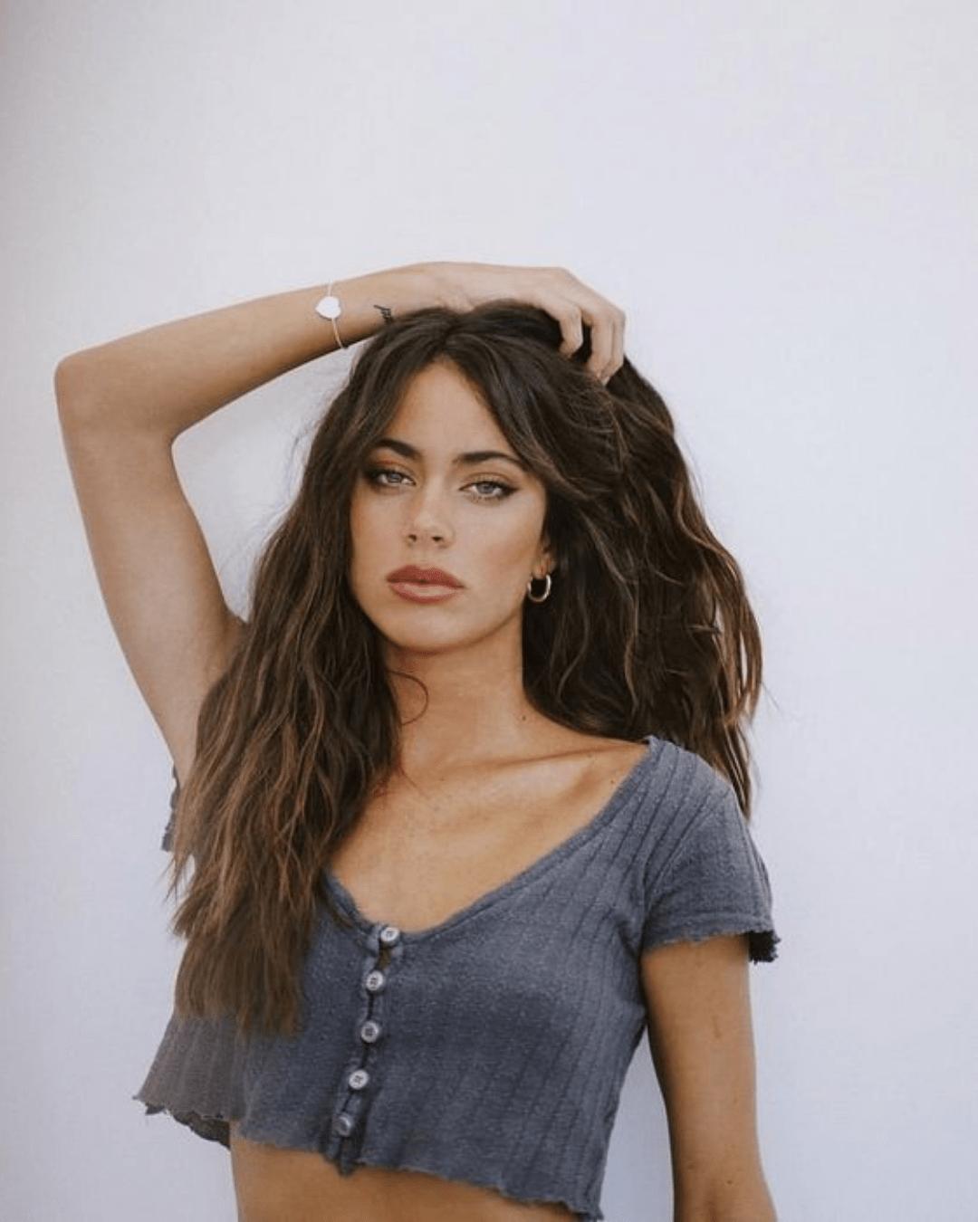 Corte de cabelo longo natural