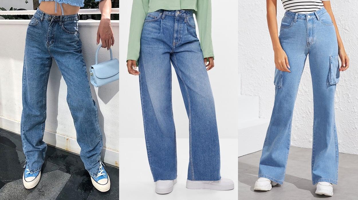 Calças jeans 2021.
