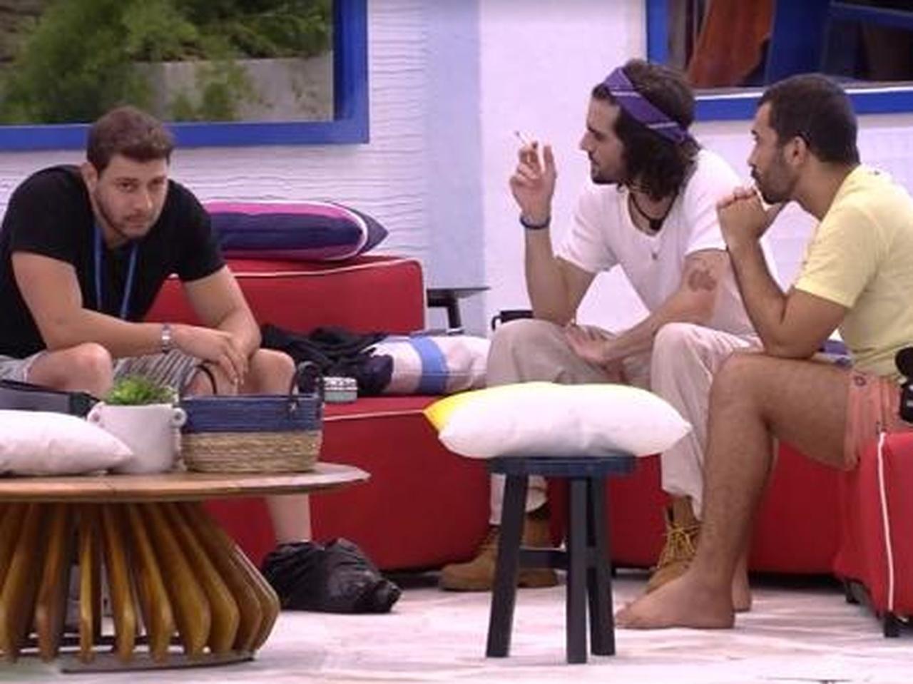 Caio, Fiuk e Gilberto definem indicação ao paredão - Globo
