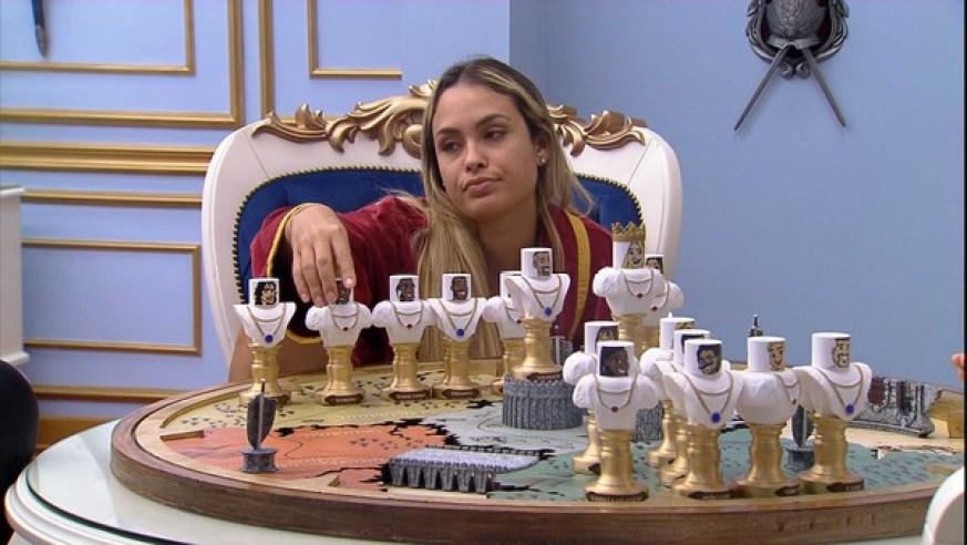 Sarah define quem indicará ao paredão - Globo