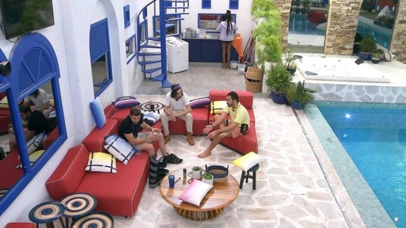 Caio, Fiuk e Gilberto definem indicação ao paredão - Globo BBB21