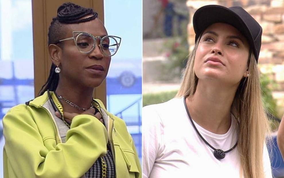 Sarah sugere que Karol Conká vai mudar de comportamento no BBB21 - Globo