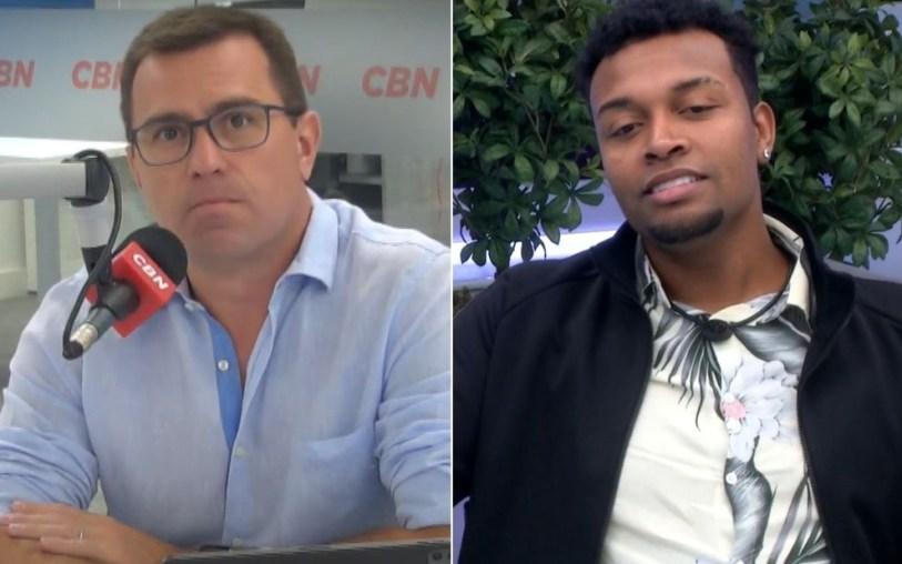 Rodrigo Bocardi revela ter recebido ameaças de Nego Di - Globo