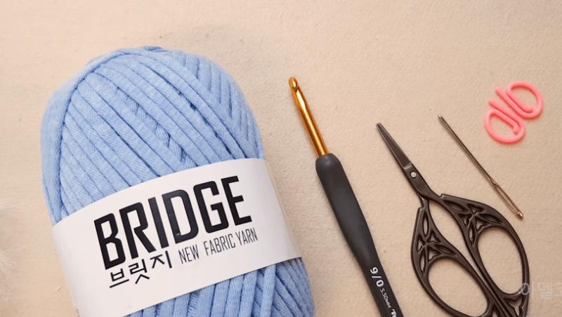 materiais para bolsa de crochê fácil