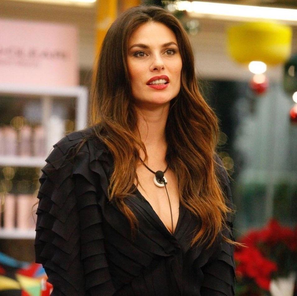Dayana Mello, participante do Big Brother da Itália.