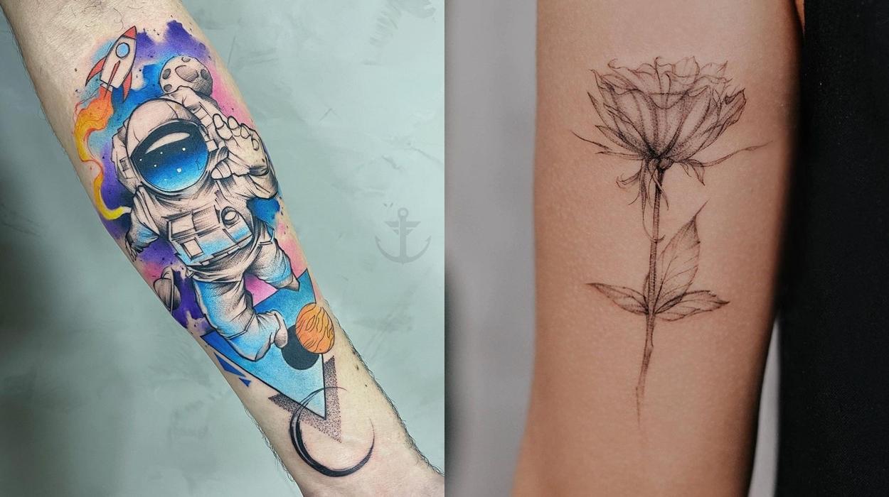 Tatuadores incríveis do Brasil.