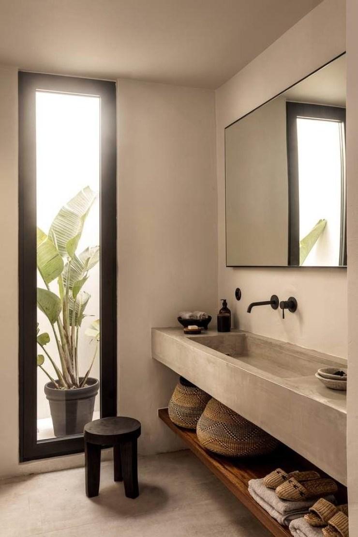 Banheiro japandi