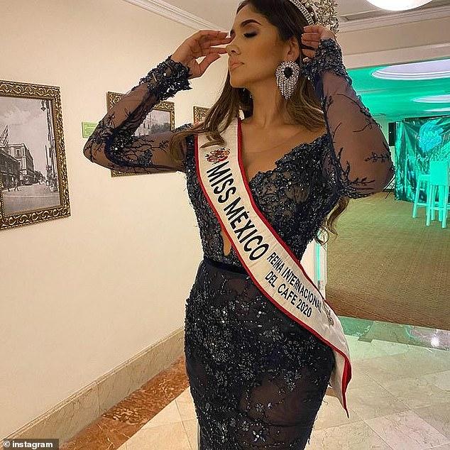 miss mexicana presa