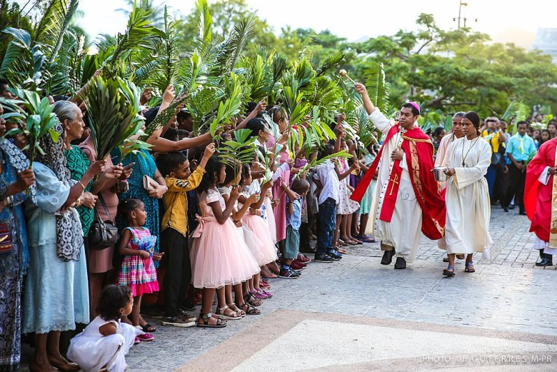Domingo de Ramos no Timor-Leste, 2019.
