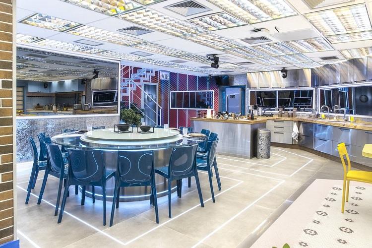 cozinha dos VIPs no BBB 21