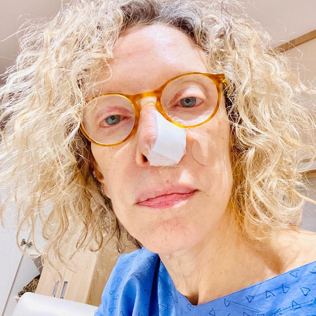 Marília Gabriela descobre câncer.