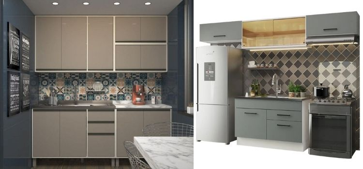 armários de cozinha baseados na decoração do BBB 21