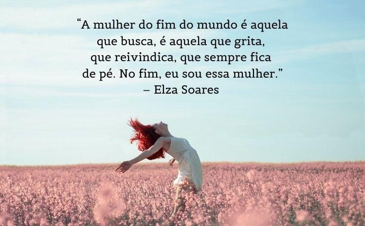 frase feminista Elza Soares