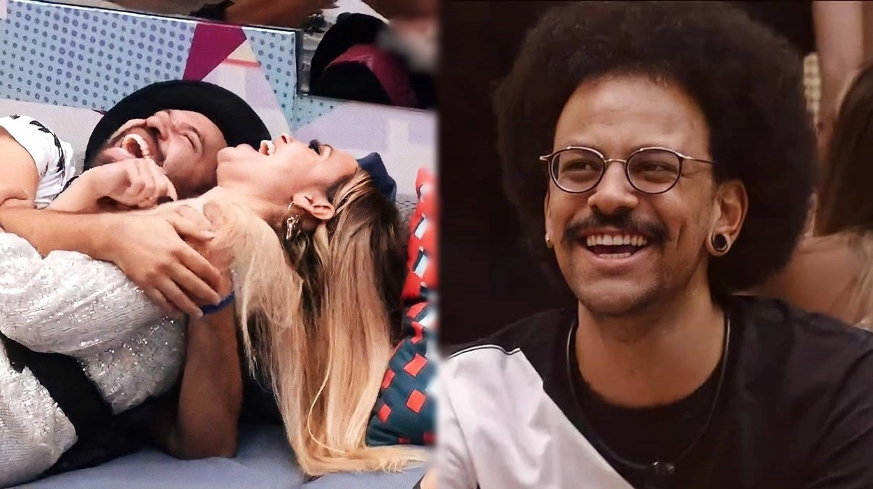 Brothers rindo no BBB 21.