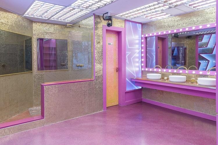 banheiro do BBB 21