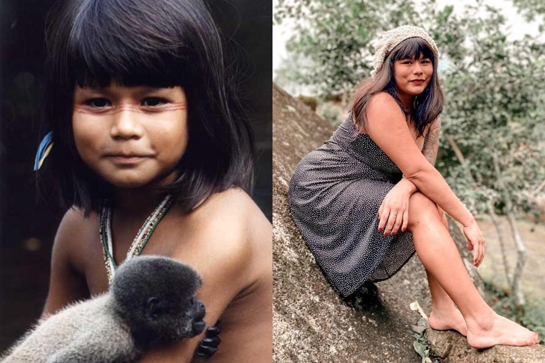 Eunice Baía ex-atriz mirim.