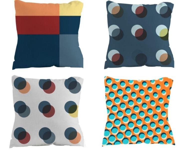 almofadas da decoração do BBB 21