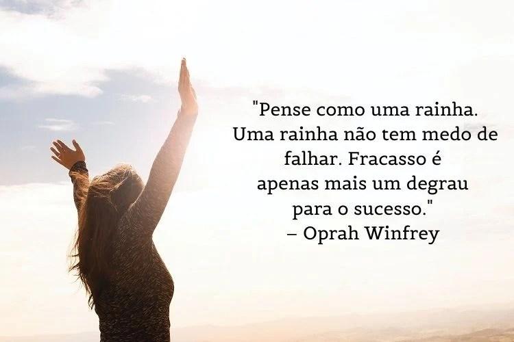 frase mulheres empoderadas Oprah