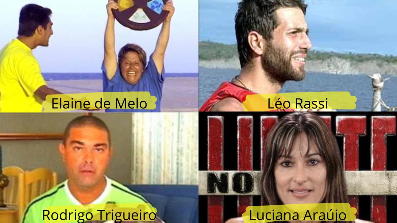 Vencedores das primeiras edições de No Limite