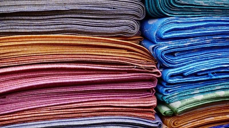 Tecidos de algodão.