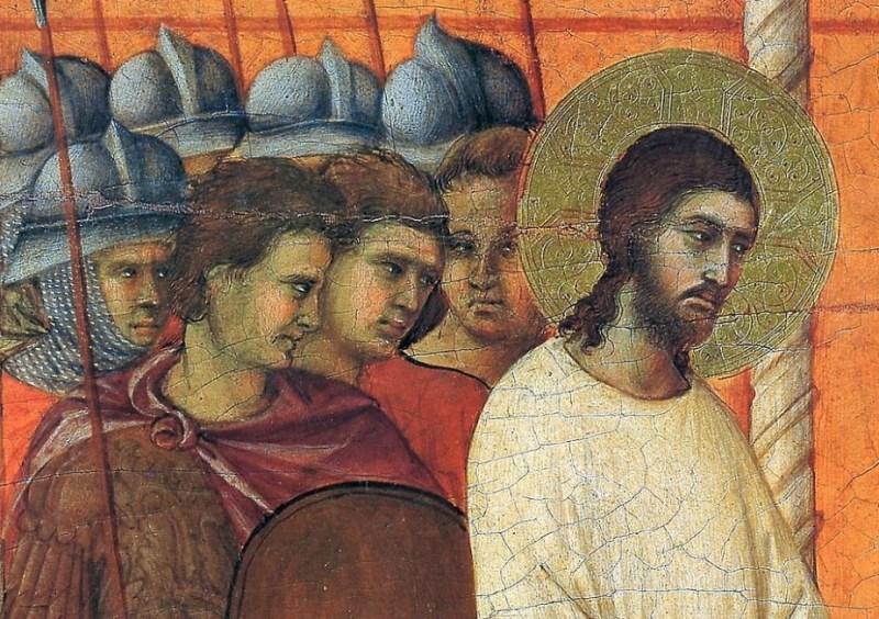 A prisão de Jesus, de Duccio Maesta, 1308.