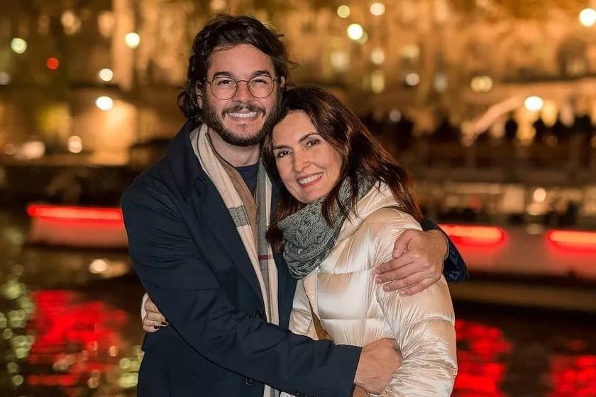 Fátima e seu atual namorado, Túlio Gadêlha - Reprodução