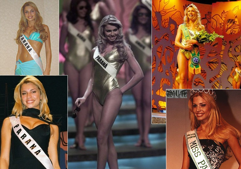 Grazi no Miss Brasil- Reprodução