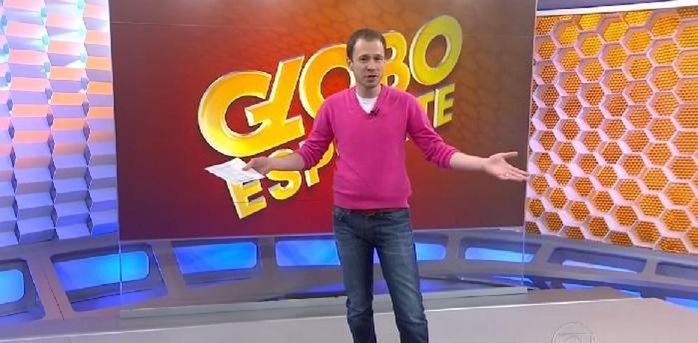 Na época em que apresentava ao Globo Esporte - Reprodução