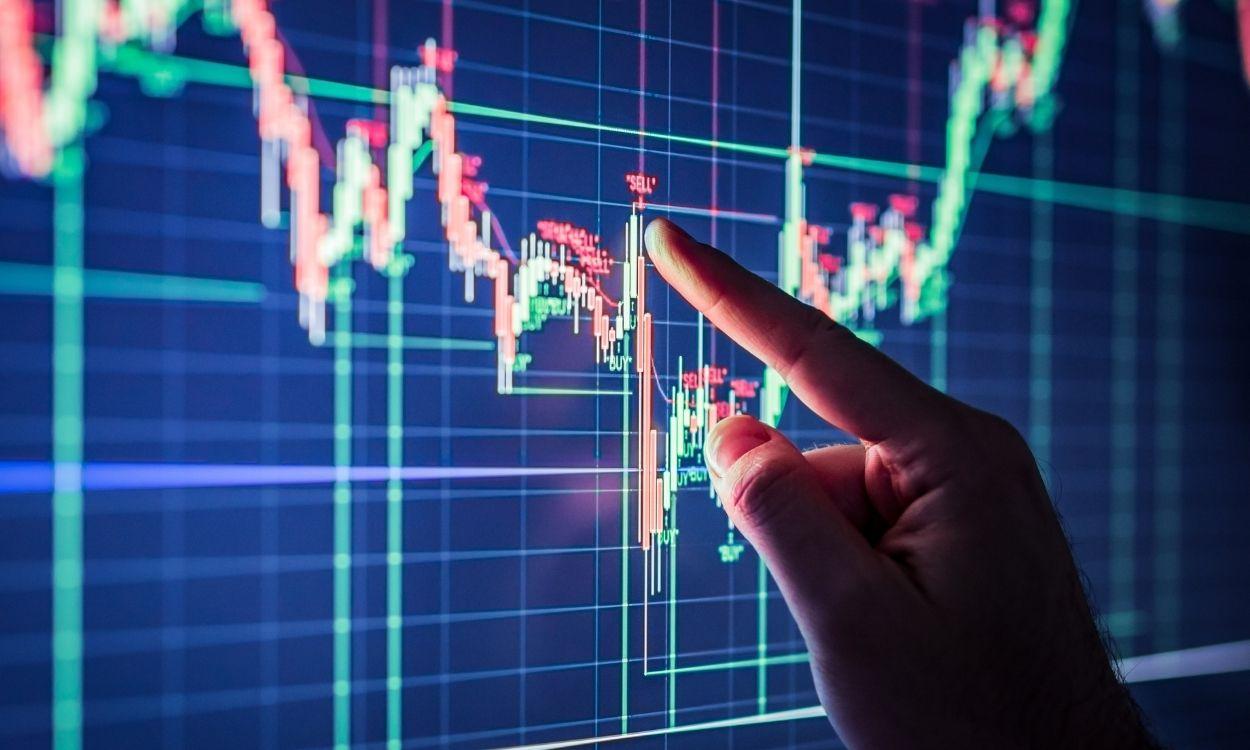 gráfico que representa o mercado - taxa selic