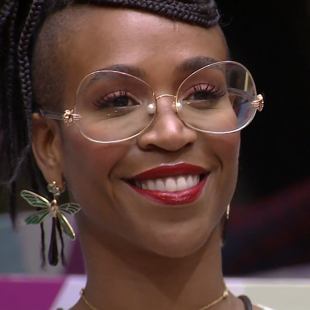 Ex-sister Karol Conká no Big Brother Brasil.