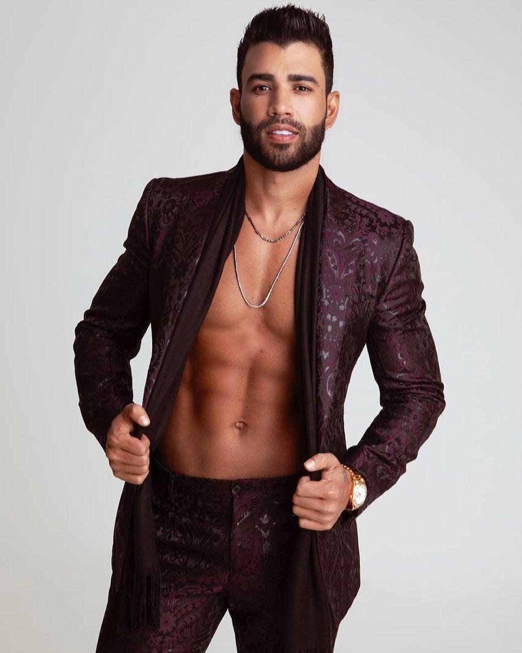 Gusttavo Lima, cantor sertanejo.