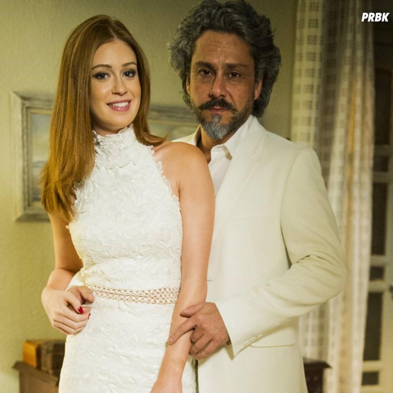 José Alfredo e Maria Ísis, personagens novela da Globo.